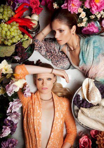 Honorata Wojtkowska i Olga Kaczyńska z Top Model w kampanii marki Apart