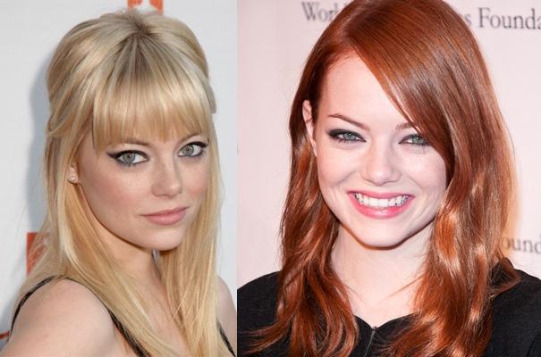 Gwiazdy w różnych kolorach włosów