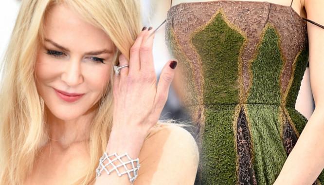 Nie uwierzycie, ile czasu zajęło stworzenie TEJ kreacji dla Nicole Kidman