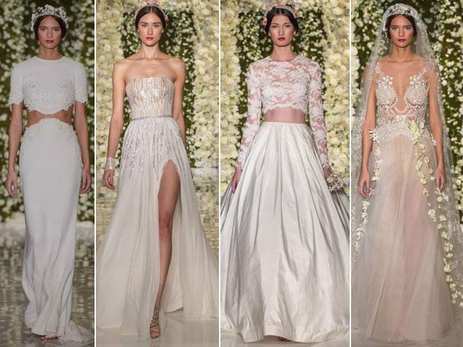 Reem Acra - Bridal Fall 2015