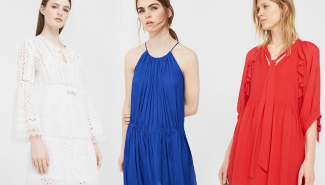 Wyprzedaż w Mango - 10 modnych sukienek na lato (FOTO)