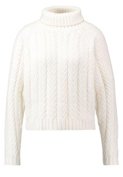 Białe sweter -