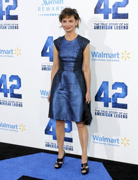 Calista Flockhart w Monique Lhuillier (FOTO)