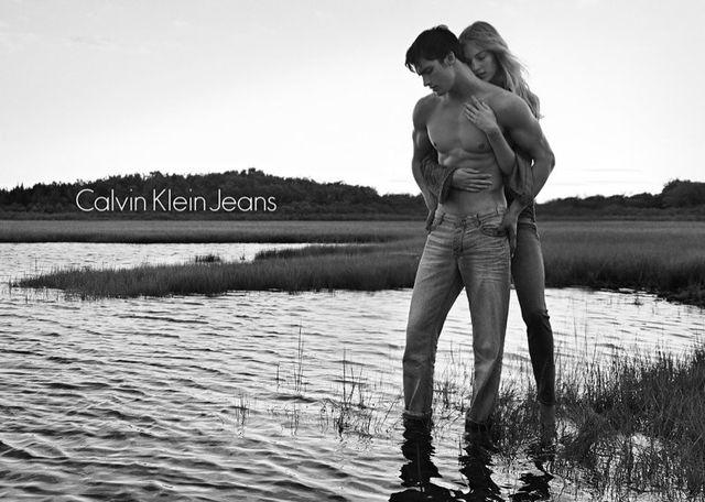 Calvin Klein - kampania wiosna 2014