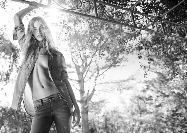 Calvin Klein wiosenna kampania na 2014