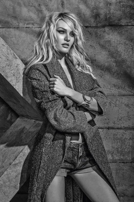 Drapieżna Candice Swanepoel w kampanii Forum (FOTO)