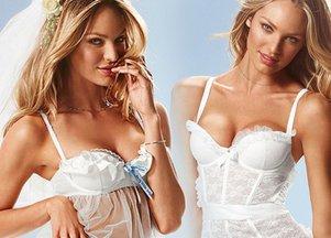Ślubna bielizna od Victoria's Secret
