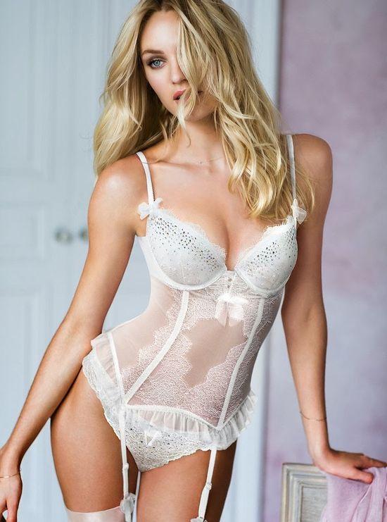 Candice Swanepoel i Adriana Lima lookbook Victoria's Secret
