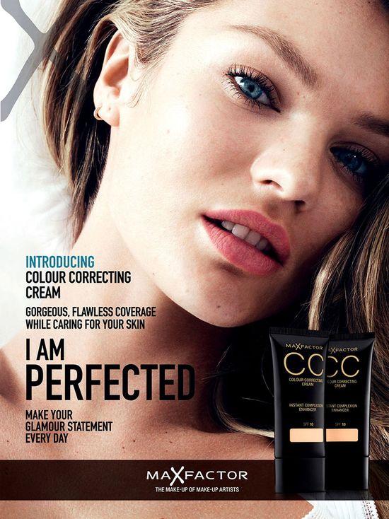 Candice Swanepoel dla Max Factor Color Correction Cream