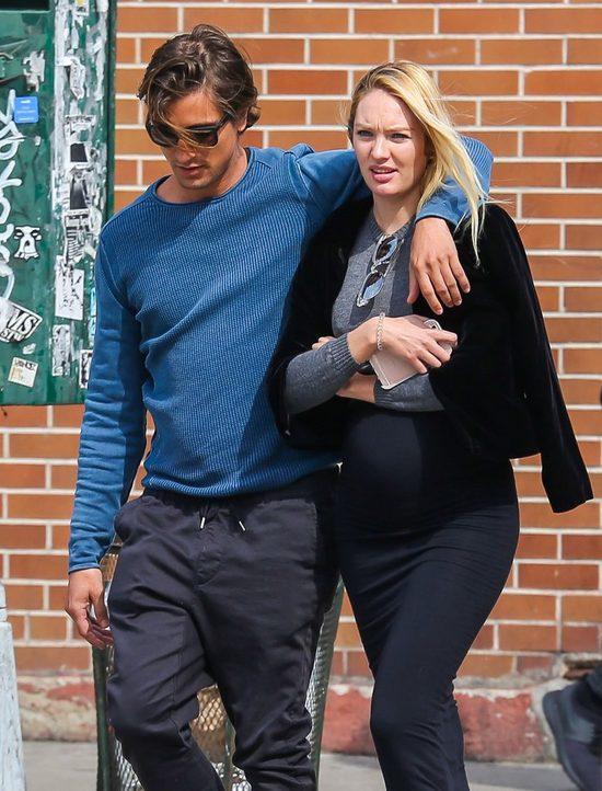 Candice Swanepoel przesadziła z ciążową stylizacją? (FOTO)