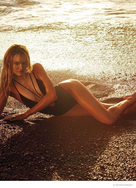 Bardzo odważna sesja Candice Swanepoel dla Victoria's Secret