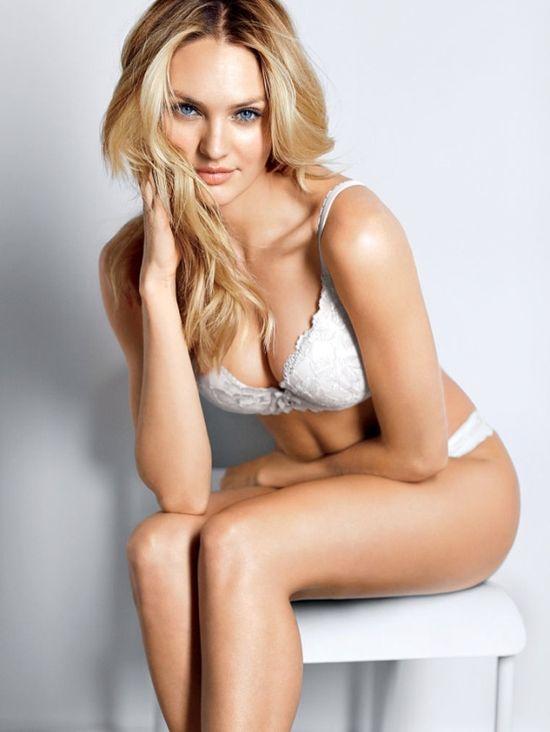 Candice Swanepoel w zmysłowej bieliźnie Victoria's Secret