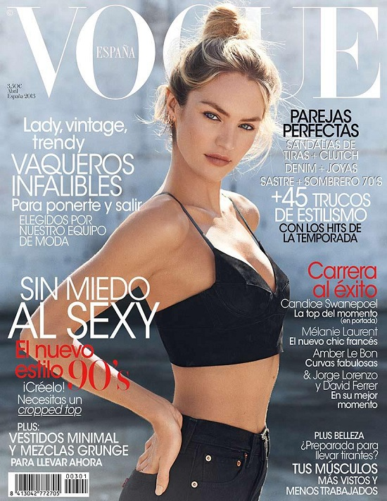 Candice Swanepoel Vogue Hiszpania
