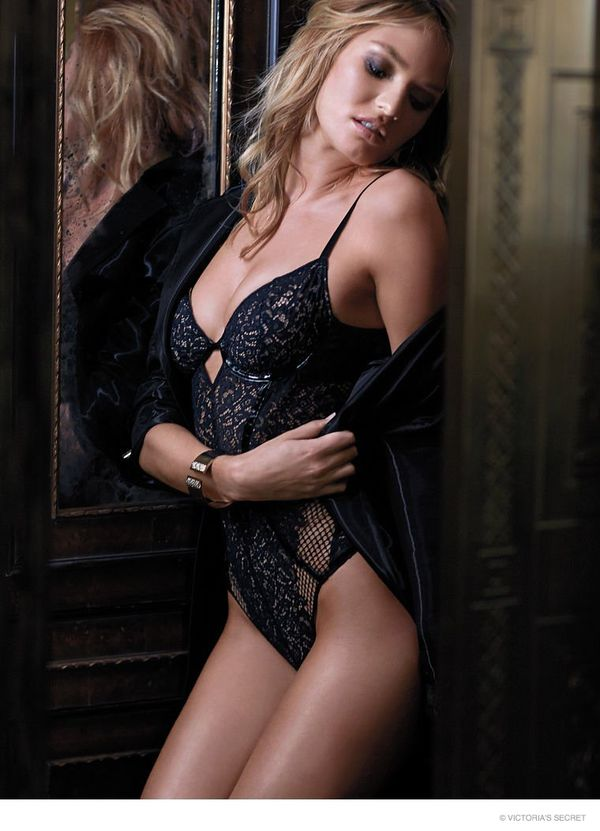Candice Swanepoel w zmysłowej kampanii Victoria's Secret