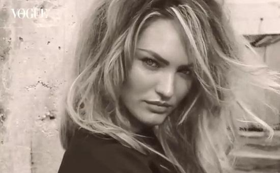 Seksowna Candice Swanepoel na okładce Vogue Espana (VIDEO)