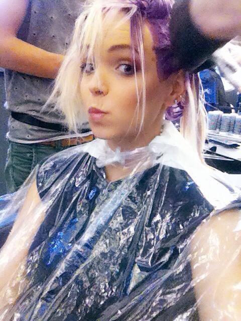 Candy Girl zrobiła się na... fioletowo! (FOTO)