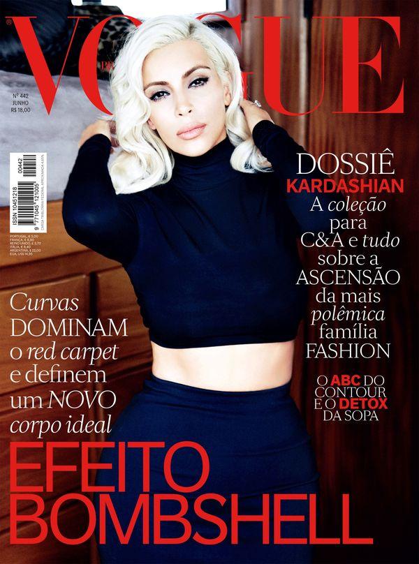 Kim Kardashian dostala kolejną okładkę magazynu Vogue!