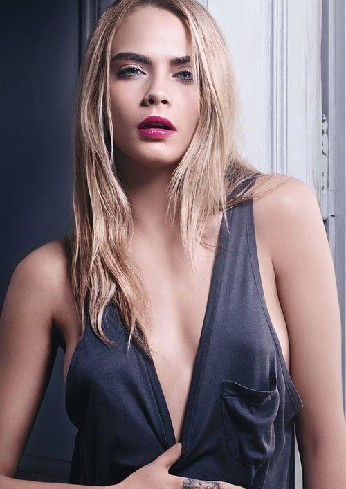 Zrób makijaż Cary Delevingne z kampanii YSL (FOTO)