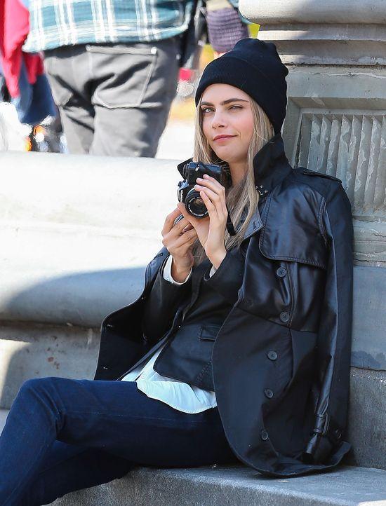 Cara Delevingne ponownie dla DKNY (FOTO)