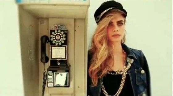 Cara Delevingne w reklamie Dsquared2 (FOTO)