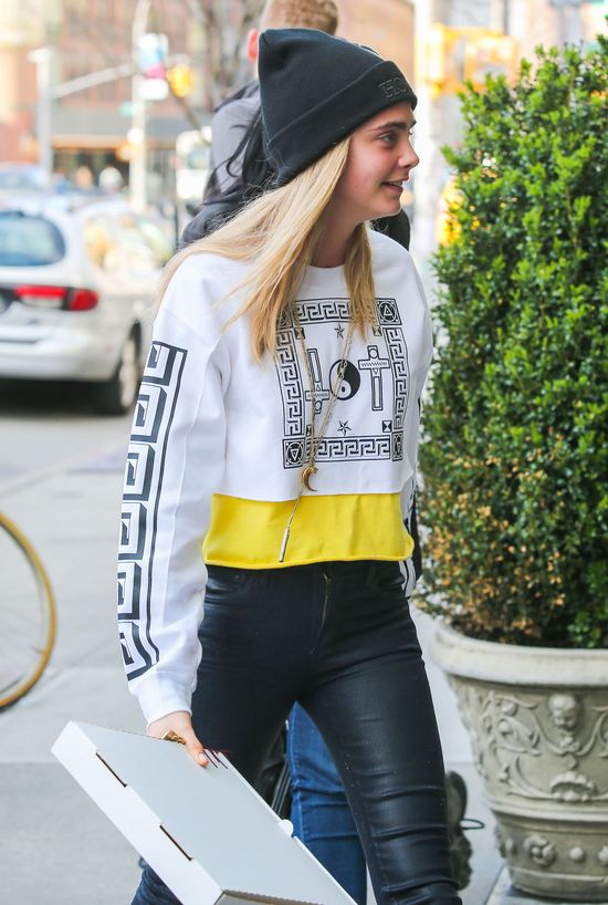 Cara Delevingne na co dzień nie wygląda jak supermodelka
