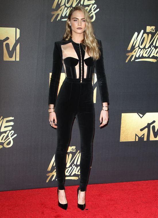 Cara Delevingne zachwycała na rozdaniu MTV Movie Awards 2016?