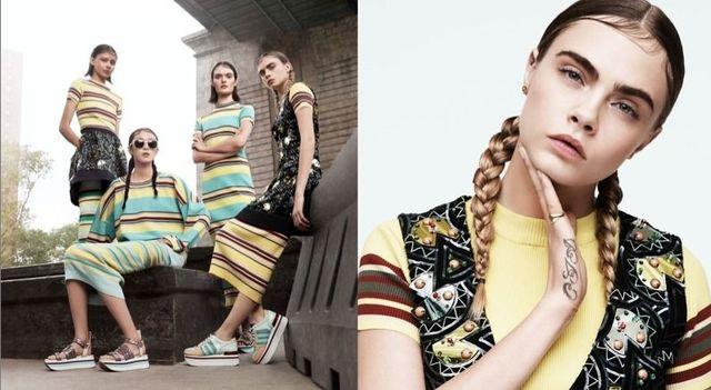 Cara Delevingne w kampanii DKNY... wygląda kiepsko? (FOTO)