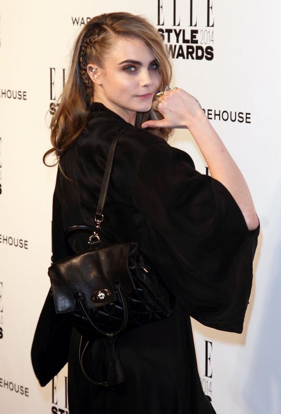 Elle Style Awards 2014 - Cara Delevingne sukienka