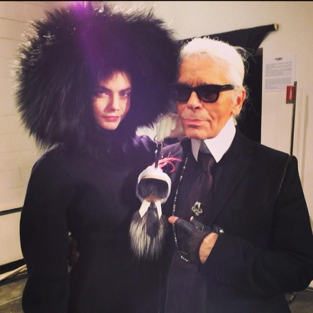Cara Delevingne następną Kate Moss? Wg Karla Lagerfelda TAK