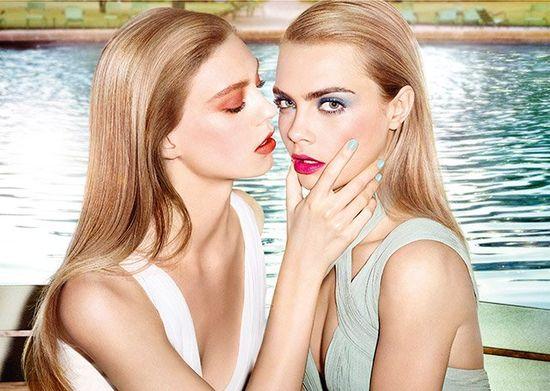 Cara Delevingne w kampanii kosmetyków YSL