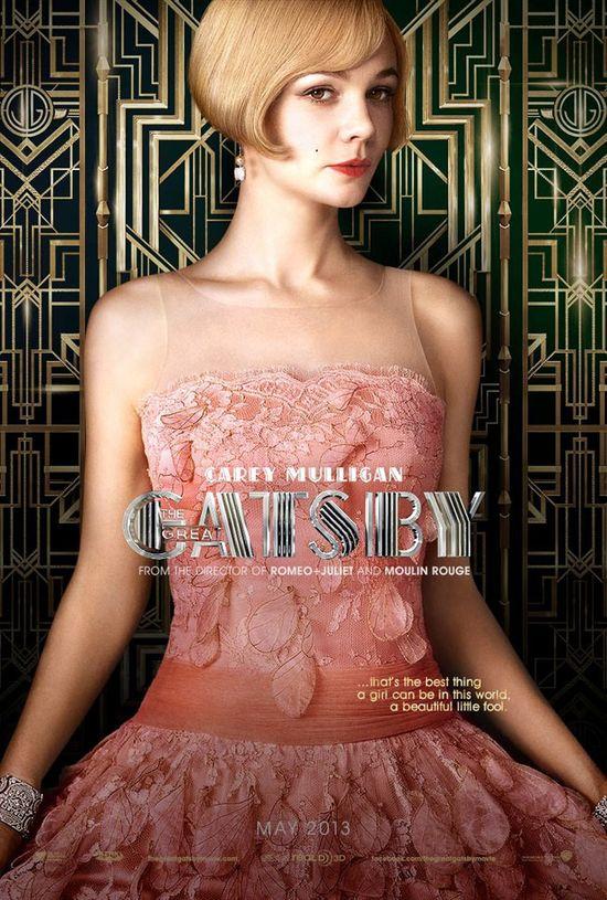 Carey Muligan jako Daisy w Wielkim Gatsbym
