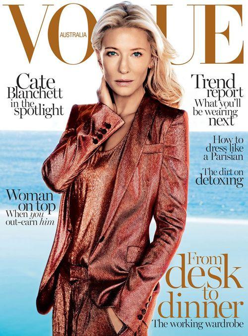 Cate Blanchett w Gucci na okładce Vogue Australia (FOTO)