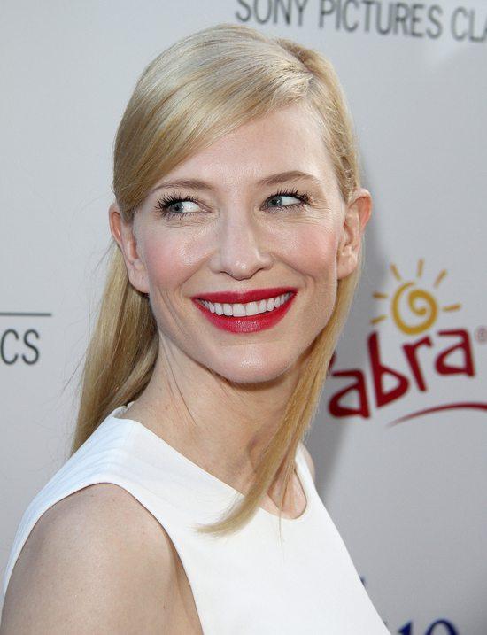 Cate Blanchett w sukni od Alexandra McQueena