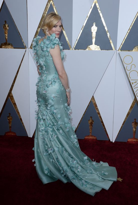 Suknia Blanchett najpiękniejszą na rozdaniu Oscarów 2016?