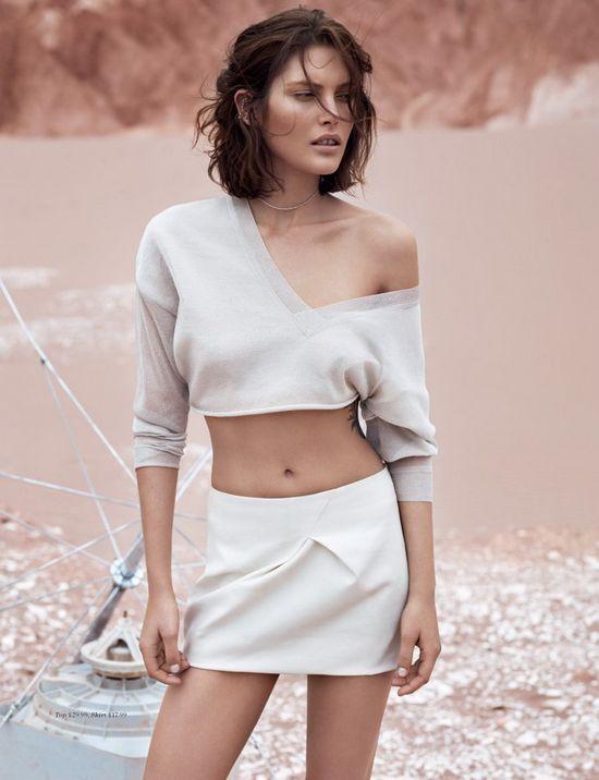 Catherine McNeil w kampanii H&M lato 2013