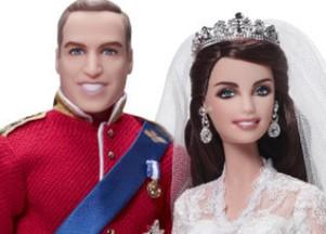 Księżna Catherine i książę William jako lalki Barbie (FOTO)