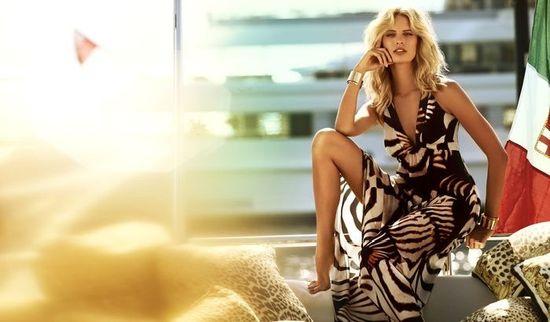 Karolina Kurkova dla Roberto Cavalli x Target Australia