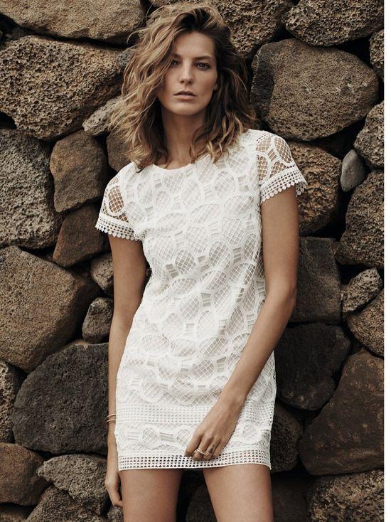Daria Werbowy w wiosenno-letniej kampanii marki Mango
