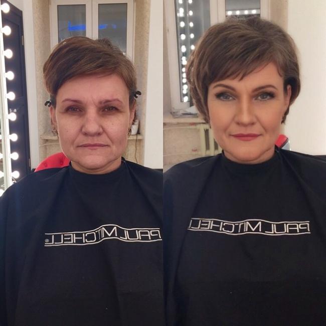 Nie uwierzycie, jak wiele jest w stanie zmienić makijaż!