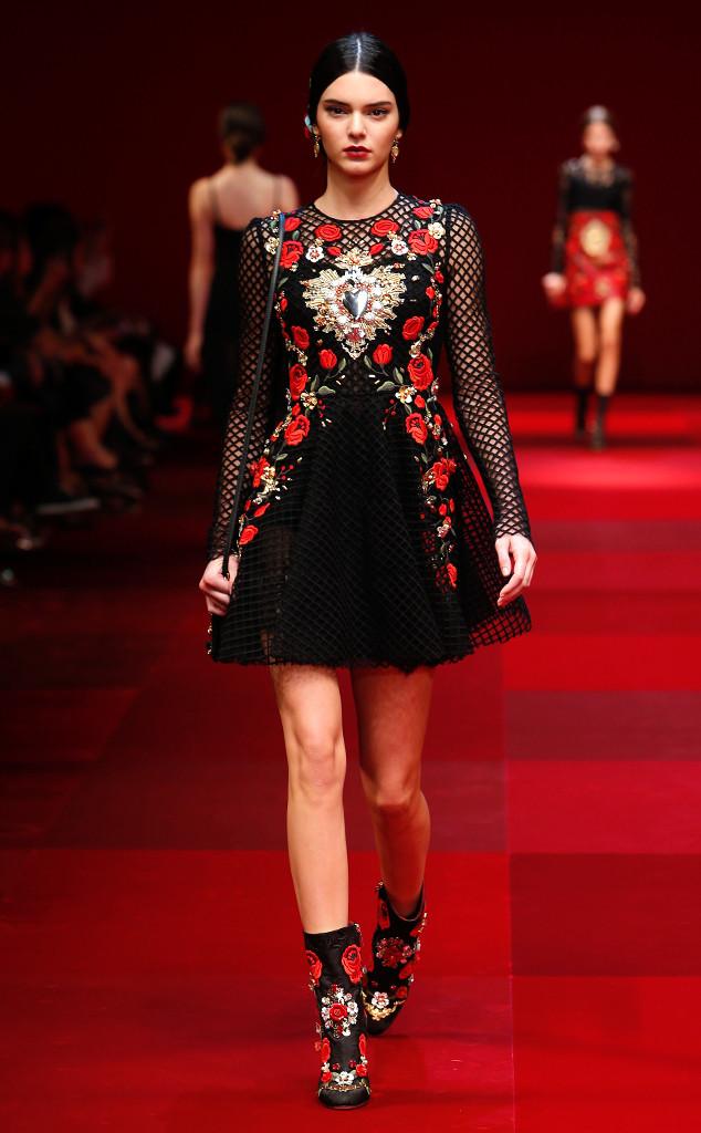 Kendall Jenner podczas Fashion Week