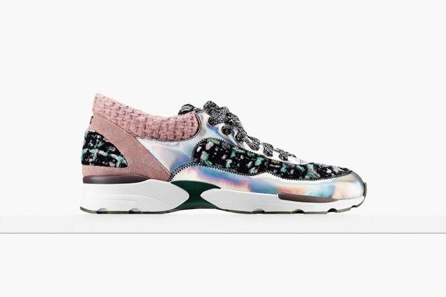 Co powiecie na sportowe buty od Chanel?