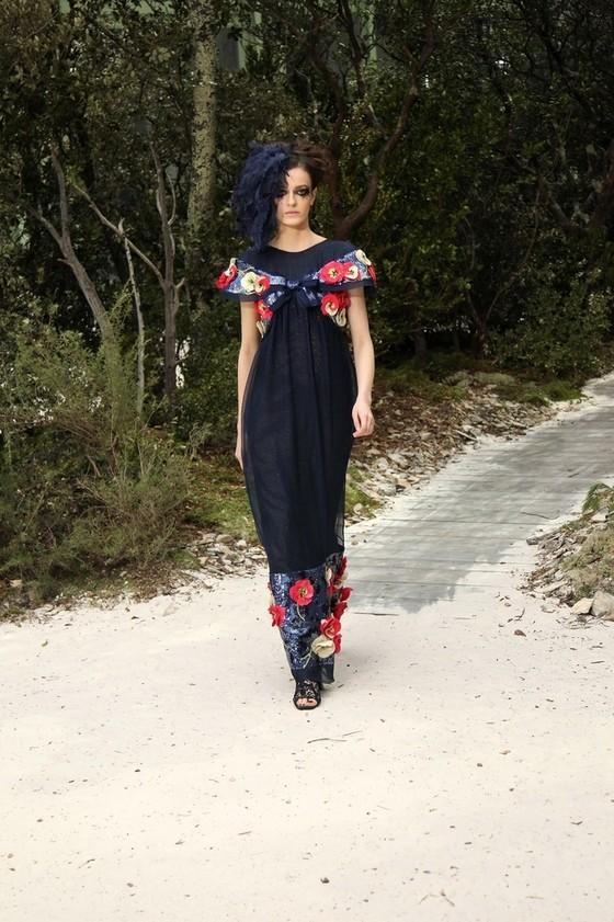 Pokaz Chanel Haute-Couture Wiosna-lato 2013