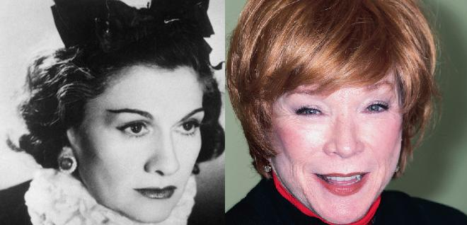 Shirley MacLaine zagra Coco Chanel