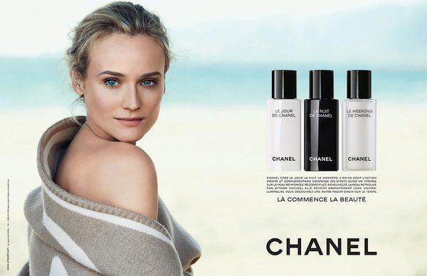 Diane Kruger nową twarzą Chanel