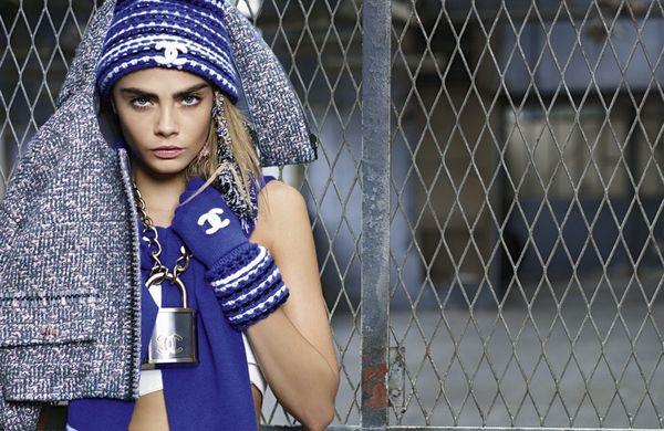 Cara Delevigne dla Chanel - nowe zdjęcia! (FOTO)