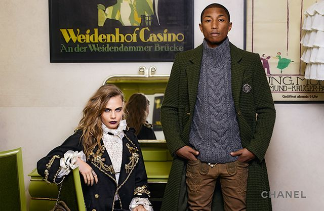 Cara Delevingne i Pharell Williams w nowej kampanii Chanel