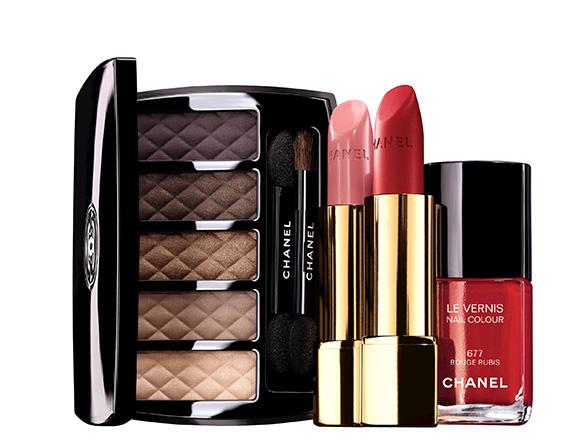 Świąteczny makijaż od Chanel