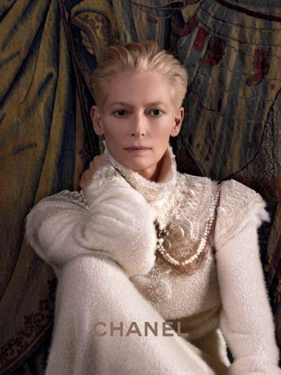 Tilda Swinton dla Chanel (FOTO)