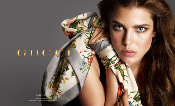 Charlotte Casiraghi ponownie dla Gucci