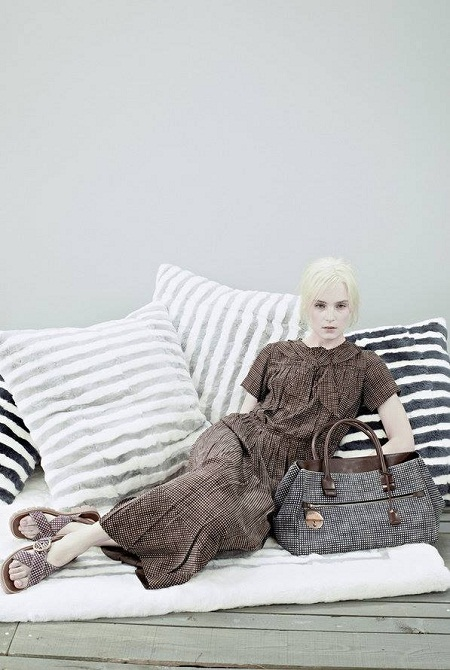 Charlotte Tomaszewska w lookbooku Marc Jacobs Resort 2014